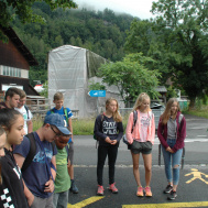Start in Interlaken Ost